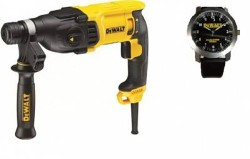 перфоратор sds plus dewalt D25133KW с часами