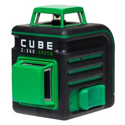 Лазерный уровень ADA CUBE 2-360 GREEN ULTIMATE EDITION